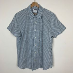 Timberland Men's Slim Fit Checkered Button Up